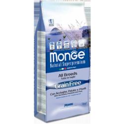 Monge- Grain Free con Acciughe Patate e Piselli