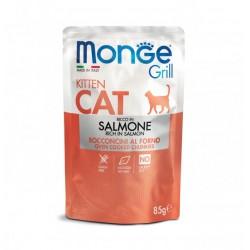 Monge Grill Kitten Cat Salmone 85gr