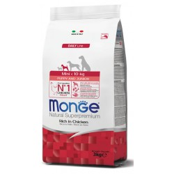Monge Puppy - Junior Mini Pollo 3KG