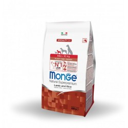 Monge Super Premium Puppy Junior Agnello 800gr