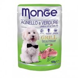 Monge Grill Dog Agnello 100gr