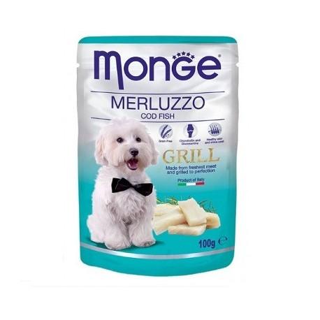Monge Grill Dog Merluzzo 100gr
