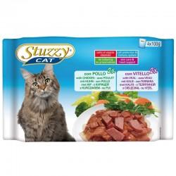 Stuzzy Cat Busta 4x100gr