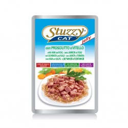 Stuzzy Cat Bustine Prosciutto e Vitello 100gr