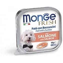Monge Fresh Patè con Bocconcini Salmone 100gr