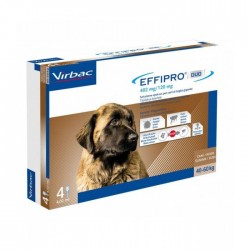 Effipro Duo Cane Spot-On 40-60 Kg 4 Pipette