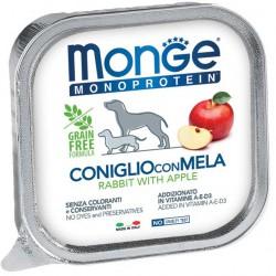 Monge Monoprotein Coniglio con Mela 150gr