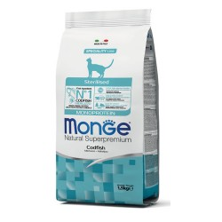 Monge Natural Superpremium Sterilised Merluzzo 1.5kg