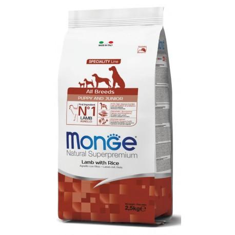 Monge Mini Puppy & Junior Lamb 2.5KG