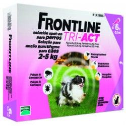 Frontline Tri-Act Cane 2-5 kg (6 fiale)