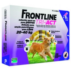 Frontline Tri-Act Cane 20-40 kg ( fiale)