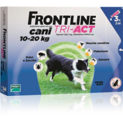 Frontline Tri-Act Cane 10-20 kg (3 fiale)