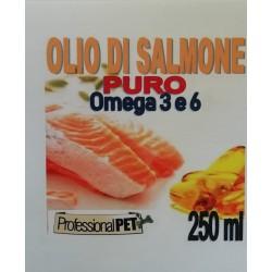 Professional Pet Olio di Salmone puro 250ml