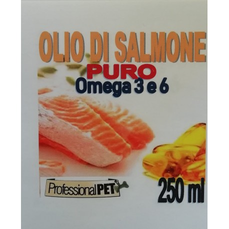 Professional Pet Olio di Salmone puro 250ml