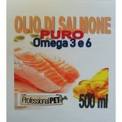 Professional Pet Olio di Salmone puro 500ml
