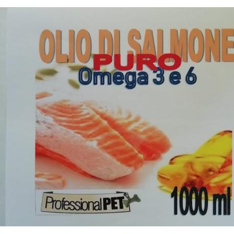 Professional Pet Olio di Salmone puro 1000ml