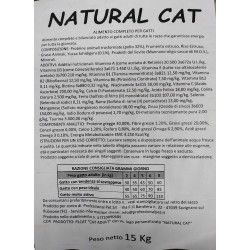NATURAL CAT ALIMENTO COMPLETO PER GATTI