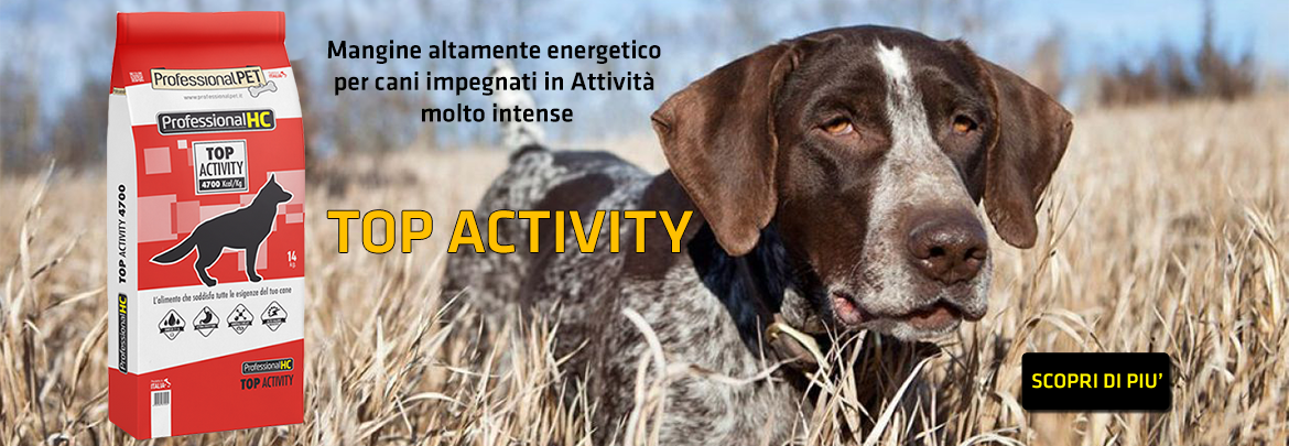 Professional Pet HC Top Activity Mangime ad Alta Energia